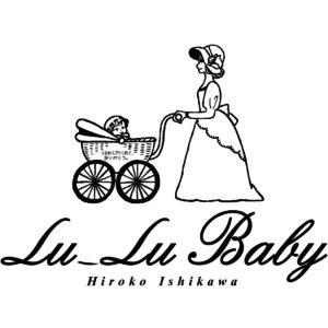 Lu-Lu Baby ロゴ黒
