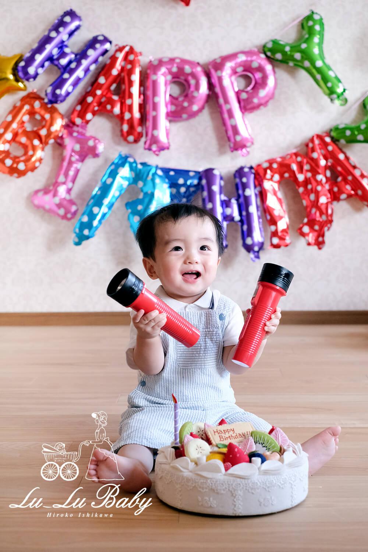 1歳お誕生日撮影