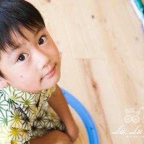 6歳お誕生日記念撮影